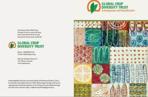Sophie Munns artwork for Global Crop Diversity