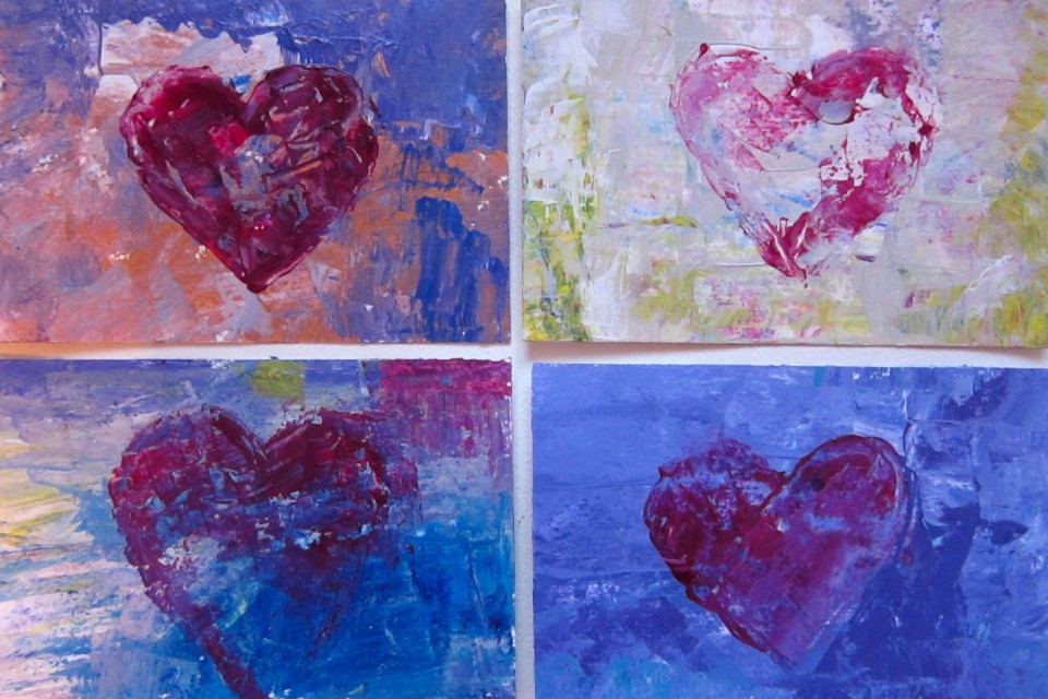 Lipson, 2014, Postcard hearts