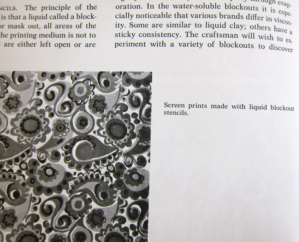 Design on Fabrics by Meda Parker Johnston and Glen Kaufman, 1967, Reinhold Publishing. Page Detail 3.