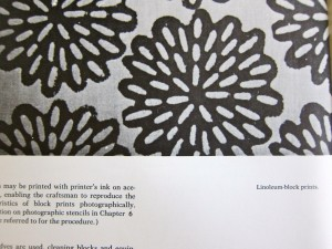 Design on Fabrics by Meda Parker Johnston and Glen Kaufman, 1967, Reinhold Publishing. Page Detail 1.