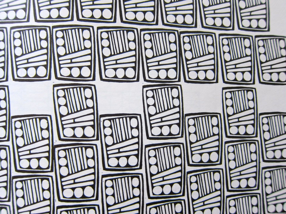 Principle of Pattern Design by Richard M. Proctor, 1990 republication of 1970 edition, page detail.