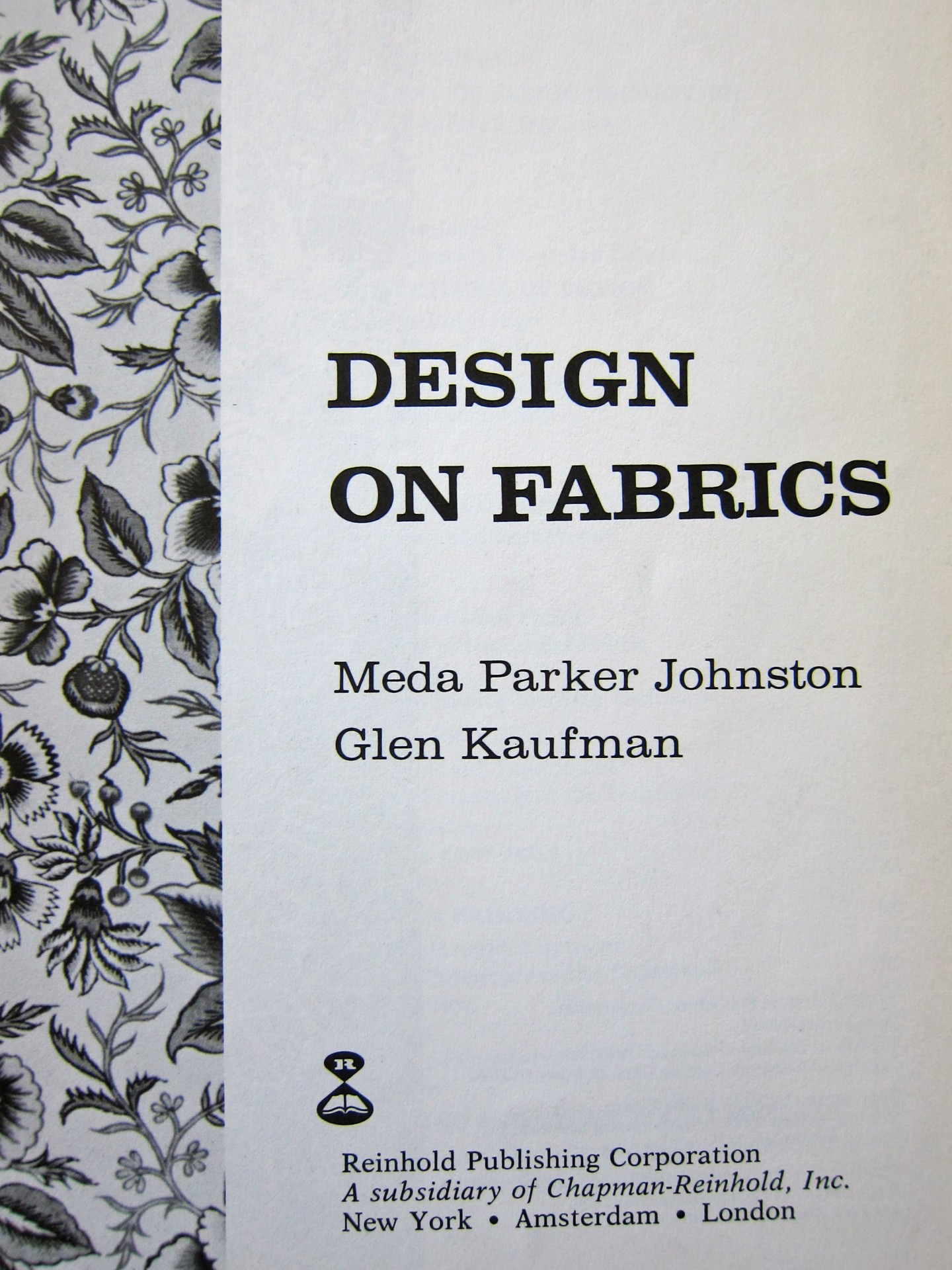 design on fabrics title page elaine lipson art design on fabrics title page