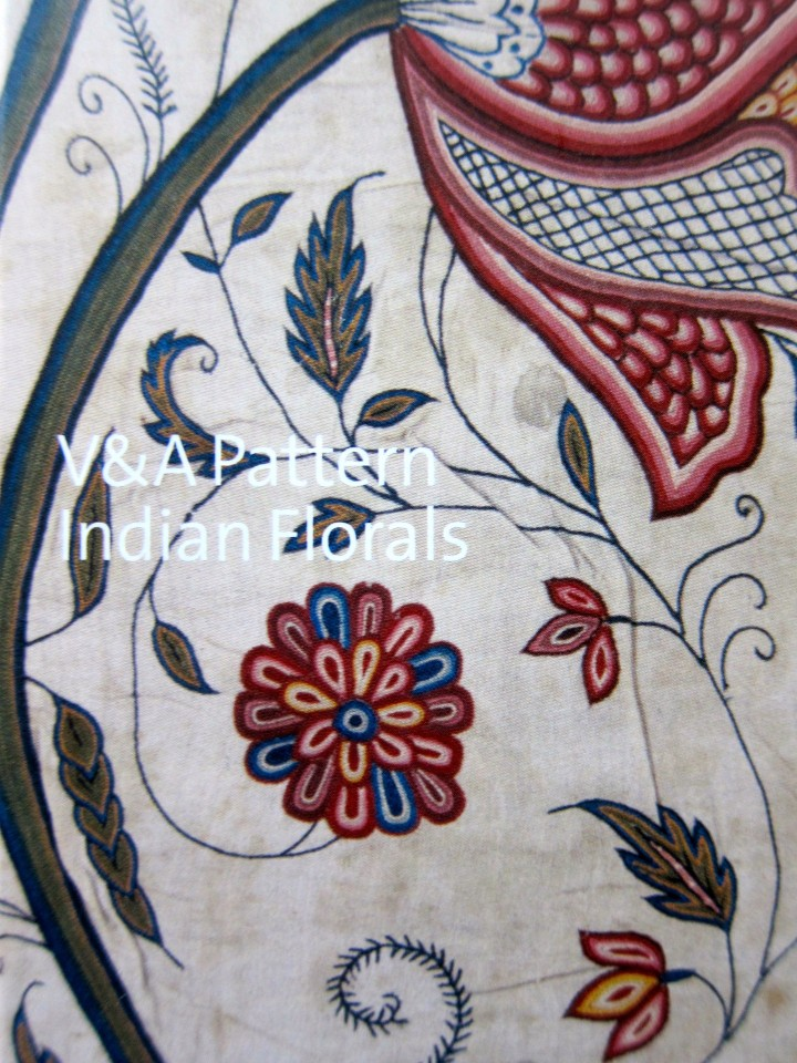 V&A Pattern: Indian Florals, 2009, V&A Publishing. WIth CD.