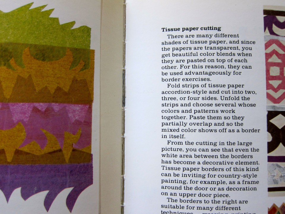 The Textile Design Book by Karin Jerstorp and Eva Kohlmark, page detail